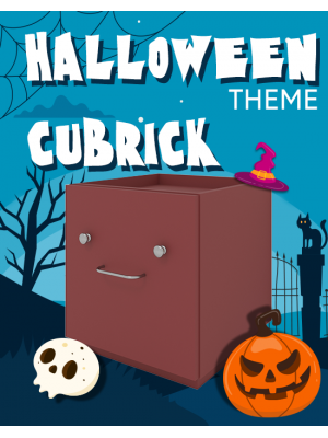 Halloween theme Cubrick Storage Box