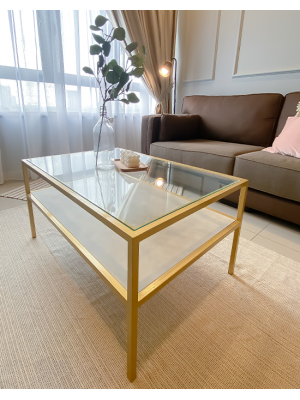 Glamorold  A03 Coffee Table Matera White